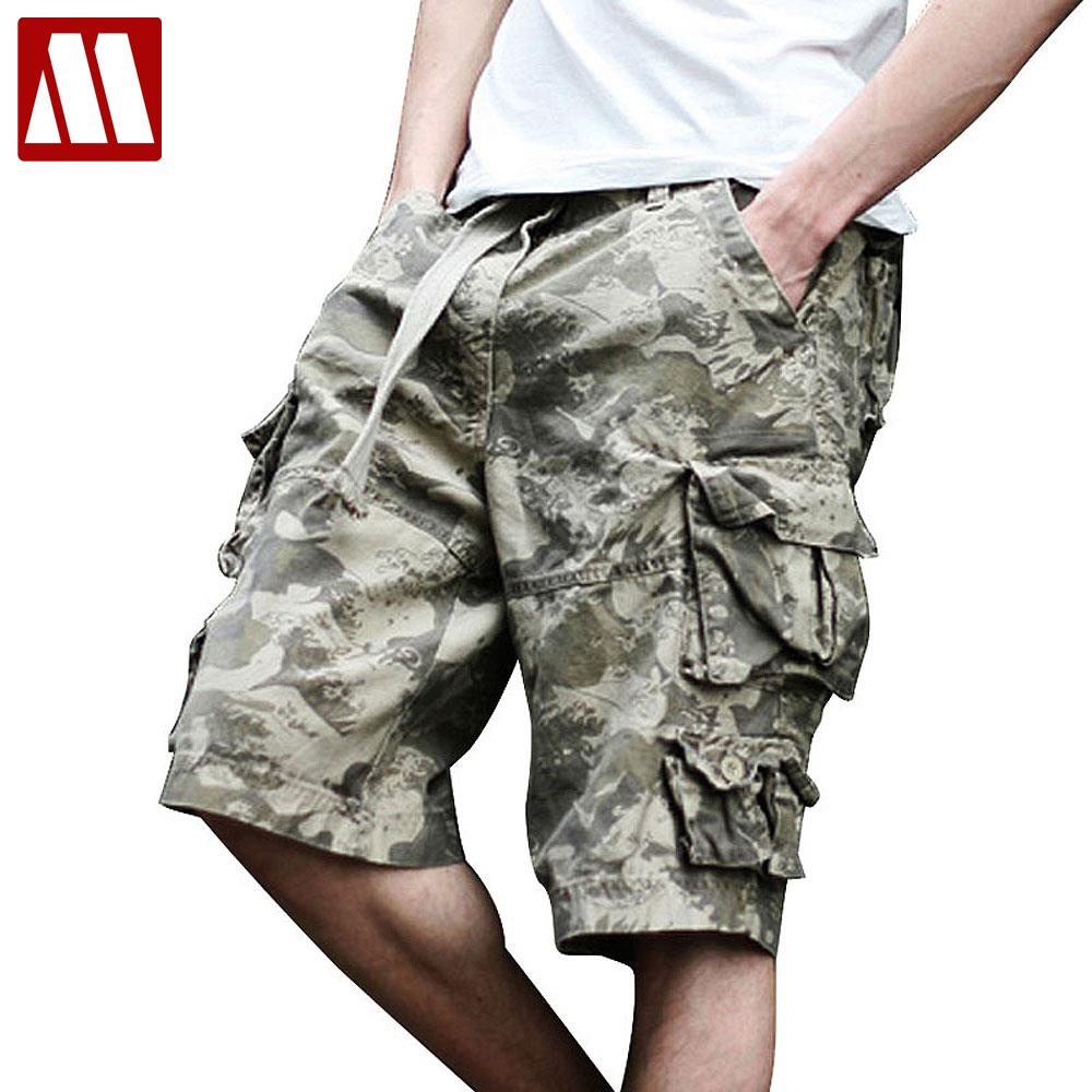 TOP Quality fashion style Cotton washed Shorts men's cargo combat short Trousers Summer shorts with belt 11 Colors W28-41