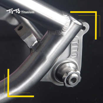 TiTo 142*12mm GR5 Titanium alloy Bucket Shaft lever Bicycle Quick Rear Hub Skewer Apply to 142-42mm bucket shaft bike frame