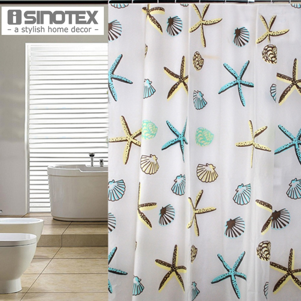 Compare Prices On Starfish Shower Curtain Online Shopping Buy Low Price Starfish Shower Curtain