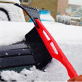Горячая 2 в 1 Льда RemoveTool 1 шт. Прокат Зимнего Льда скребок Снег Щеткой Авто Грузовик Окно Выдвижной Лопата Удаление Кисти лопаты