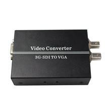 SDI TO VGA sdi (SD-SDI/HD-SDI/3G-SDI) BNC video Converter with power adapter (us or uk au eu)