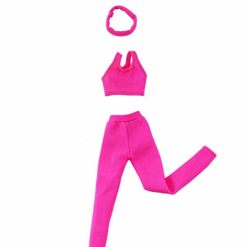 Одежда ручной работы повседневная одежда Блузки спортивные штаны милые топы брюки платье Одежда для куклы аксессуары детские подарочные игрушки