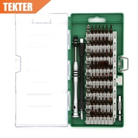 60 In 1 S2 Alloy Magnetic Screwdriver Set Precision Driver Kit Electronics Repair Tool Kit For