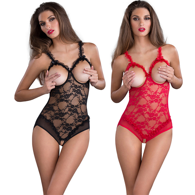 L XL XXL Women Sexy Lingerie Large Size Hot Open Crotch Bra Erotic Lingerie Teddy Babydoll Sexy Underwear Sex Costumes Lenceria