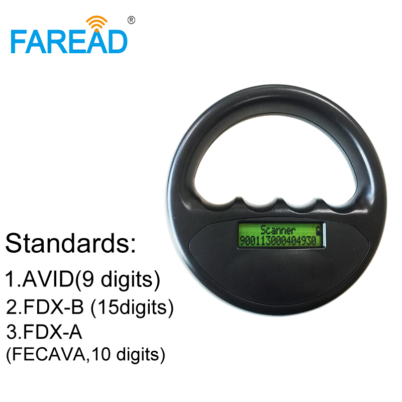 Universal Dog,cat,pet,fish,cow Chip Reader For Animals ID Tracking FDX-B,FDX-A,AVID Microchip
