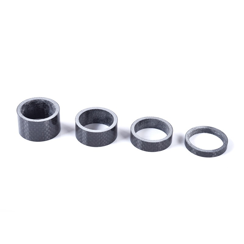 Carbon Fibre Glossy Headset Spacers 9