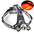5000Lm Headlamp XM-L T6 + 2 R5 LED Headlamp Head Light LED Camping Headlight Bike Lamp Outdoor Hunting Light Lampe Torche