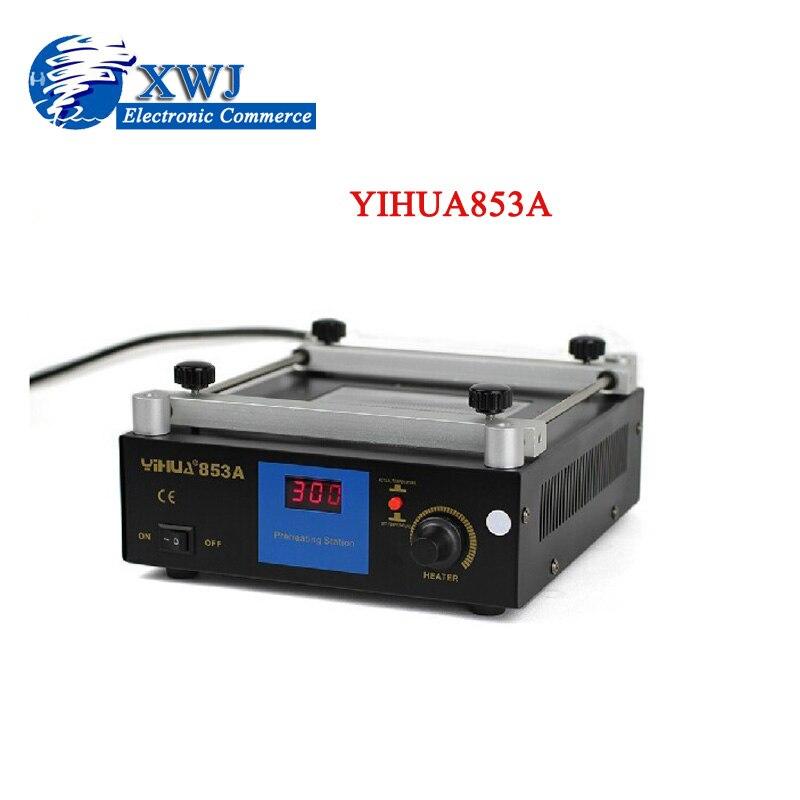 ФОТО YIHUA 853A Lead-Free Preheat Rework Station Motherboard BGA Preheating Soldering Station For SMT Rework Repair