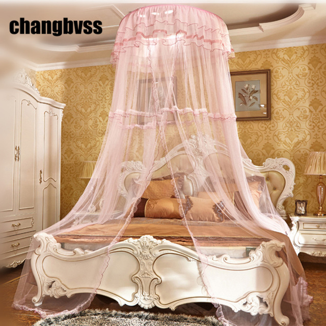 High Quality Hung Dome Mosquito NetLarge Mosquito Tent Insect Mosquiteiro CibinlikBed Canopy & High Quality Hung Dome Mosquito NetLarge Mosquito Tent Insect ...