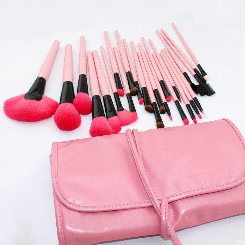 24X Professional Makeup Set Pro Kits Brushes Kabuki Cosmetics Brush Tool