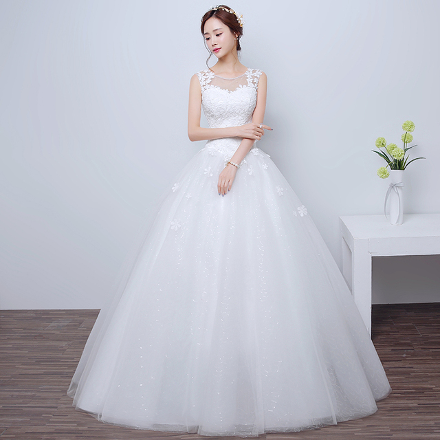 2017 high quality vintage Lace wedding dresses country designs plus ...