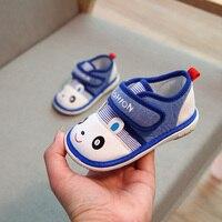 Sialia/детская повседневная обувь для мальчиков, детская обувь, кроссовки для маленьких девочек, парусиновая обувь с резиновым принтом животн...