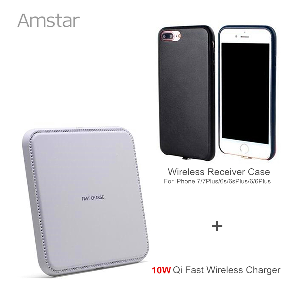 Amstar Fast Wireless Charger 10W Qi Wireless Charging pad