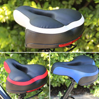 New Soft Mountain Bike Saddle Cover MTB Bicycle Saddle Thicken Wide Road Bike Saddle Bicycles Seat Pad Rear Bicycle Accessories