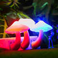 Creative Novelty Led Electric Induction Small Night Light Mushroom Wall Lamp Night Light Lamp US/EU Plug