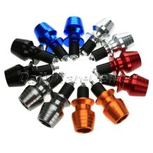New Arrival 7/8 22mm CNC Motorcycle Sport Bike Handlebar Hand Grip Bar Ends Plugs Sliders Free Shipping