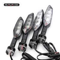 LED Blinker Anzeige Licht Für YAMAHA FZ8 FZ6 N S R FZ1N FZ1 Fazer XJ6 Diversion F TDM 900 motorrad Zubehör Blinker