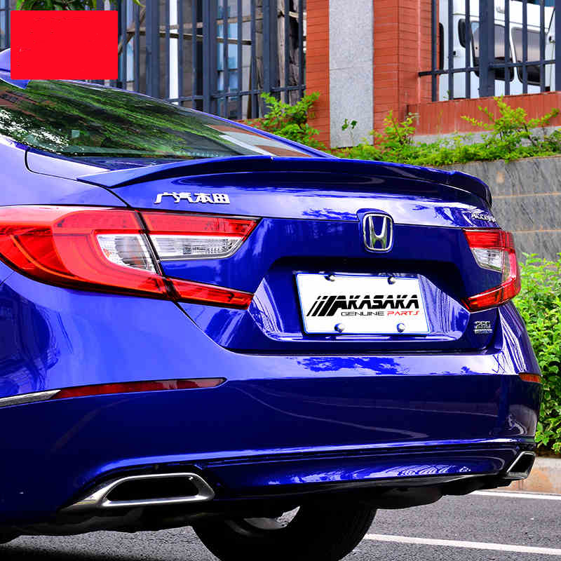 JIOYNG For Honda Accord 2018 2019 Rear Wing Spoiler  Trunk Boot Wings Spoilers paint ABS 3m Paste FAST BY EMS|Spoilers & Wings| |  - title=