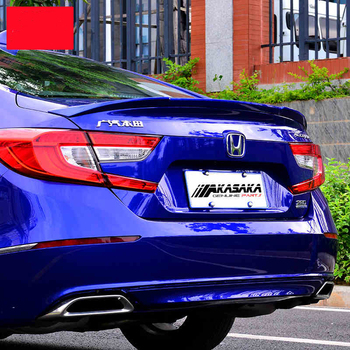 JIOYNG For Honda Accord 2018 2019 Rear Wing Spoiler, Trunk Boot Wings Spoilers paint ABS 3m Paste FAST BY EMS