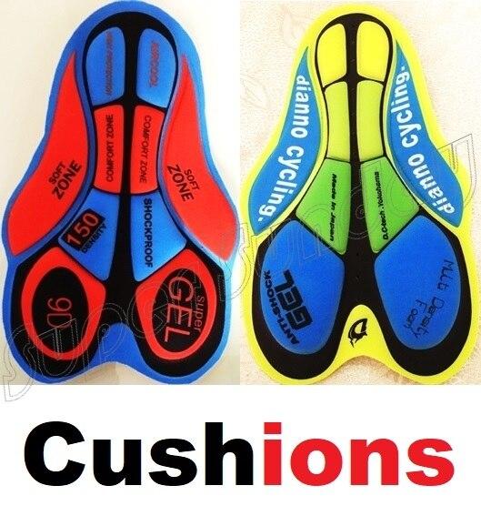 Radfahren Shorts' Kissen Atmungs 5D Pads Bike Sport tragen Reiten Basis Kissen Outdoor Radfahren Unterwäsche 9D Gelkissen Kostenloser Versand