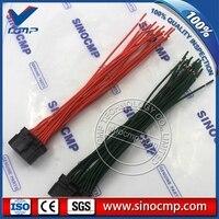 PC200-6 PC-6 connector plug kabel voor Komatsu 6d95 Graafmachine monitor  3 maand garantie