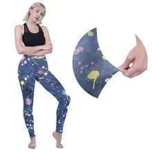 WPCZQVZA New Fashion Graffiti Woman Leggings High Elasticity 3D Classic Printing Blue Legging Female Fitness Slim Leggins 2019