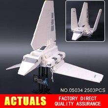 LEPIN 05034 Star War Series Imperial Shuttle Klocki Klocki Montowane Zabawki Kompatybilny z 10212 Prezenty