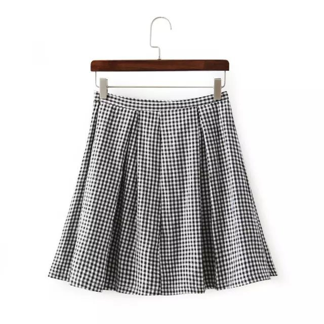Compare Prices on White Plaid Skirt- Online Shopping/Buy Low Price ...