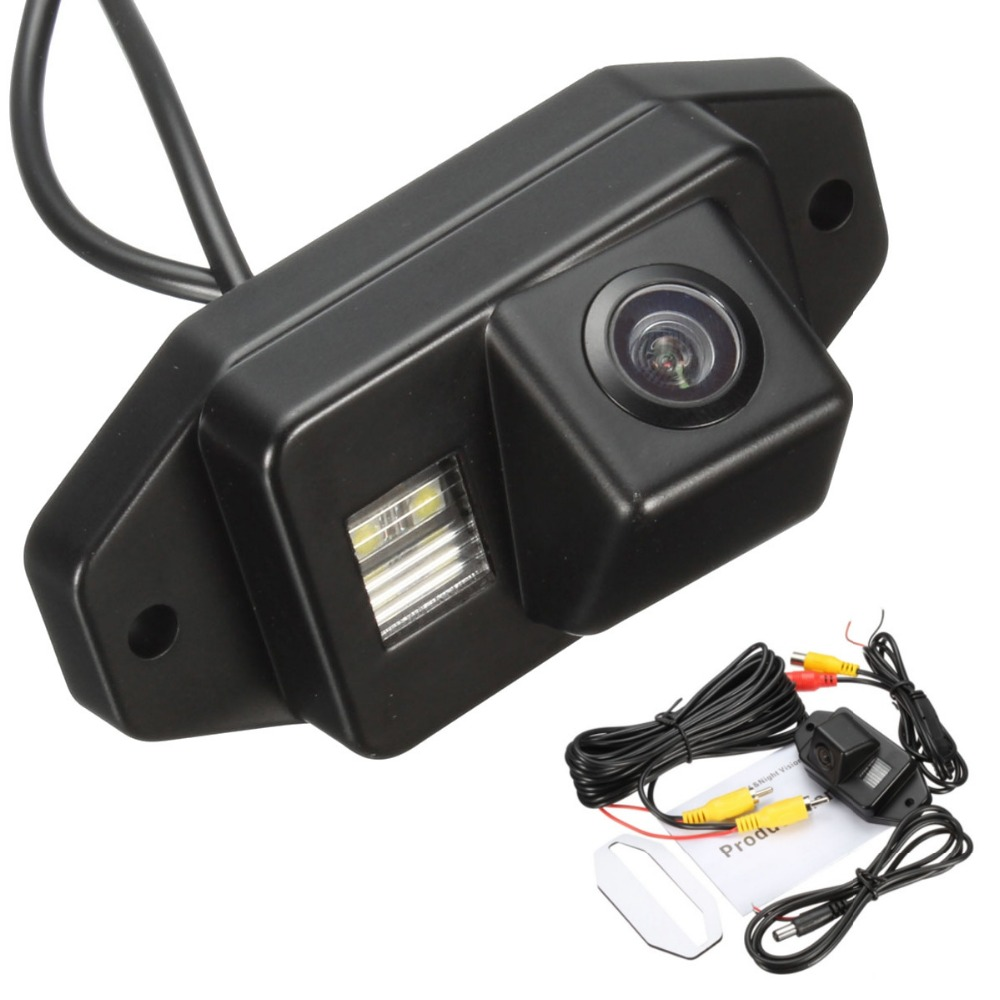 Coche 170 grados de visión trasera Cámara reversa aparcamiento cámaras para Toyota/Prado/Land/Cruiser 120 impermeable