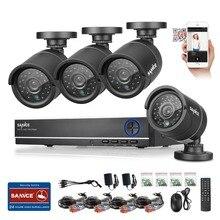 Sannce 4ch system cctv 1080 p hdmi wyjście video surveillance dvr kit z 4 sztuk 1280tvl 720 p bezpieczeństwo wewnętrzne system kamer