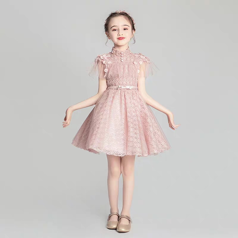 Little Girls Kids Sweet Birthday Wedding Party Princess Lace Dress Baby Toddler Elegant Host Pageant Piano Tutu Ball Gown DressLittle Girls Kids Sweet Birthday Wedding Party Princess Lace Dress Baby Toddler Elegant Host Pageant Piano Tutu Ball Gown Dress