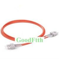 광섬유 패치 코드 SC-SC 멀티 모드 62.5/125 om1 듀플렉스 goodftth 20-100 m