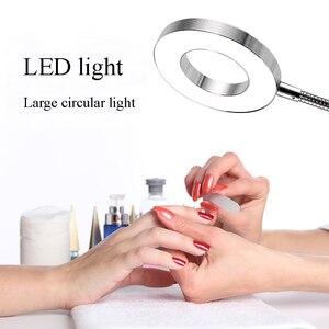 Image 3 - アートメイク眉毛 LED ランプ機器クランプ Usb 冷光調節可能なランプ Microblading アクセサリー用品