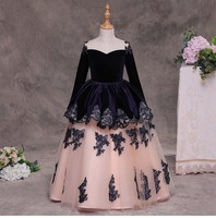 Girls tutu spring flowers dresses kids tutu clothing ball grown dance/party/wedding clothes 1BC506LG 66R