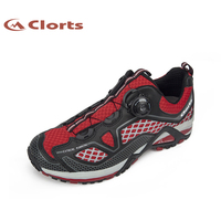 Clorts Men Breathable Running Shoes BOA Lacing System Outdoor Shoes Lightweight Running Sneakers for Men 3F009A