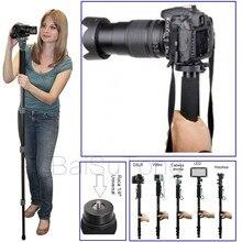 WT1003 WT-1003 Skilled Alloy Digital camera tripod Monopod Light-weight 67″(171cm) for Sony Canon Nikon Fuji Olympus DSLR Common
