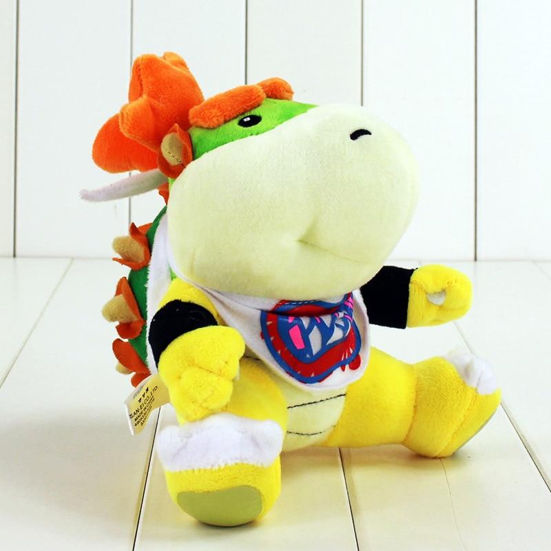 17cm Super Mario Bowser JR Baby Koopa plush Toys Soft Stuffed Plush Dolls(China)