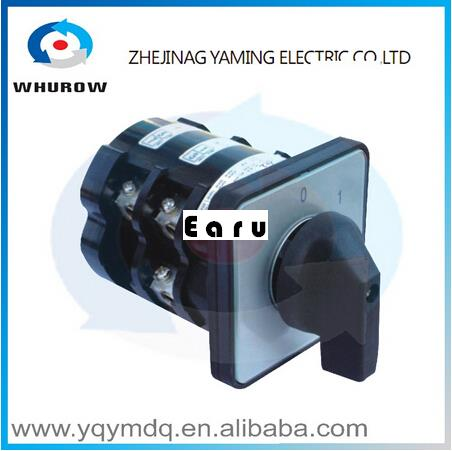 Factory Supplied HZ5-63/10 L02Combination switches Changeover switch rotary switch 2 pole sliver contacts цена