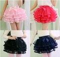 New fashion girls tutu skirts baby ballerina skirt childrens chiffon fluffy pettiskirts kids Hallowmas casual tutu skirt