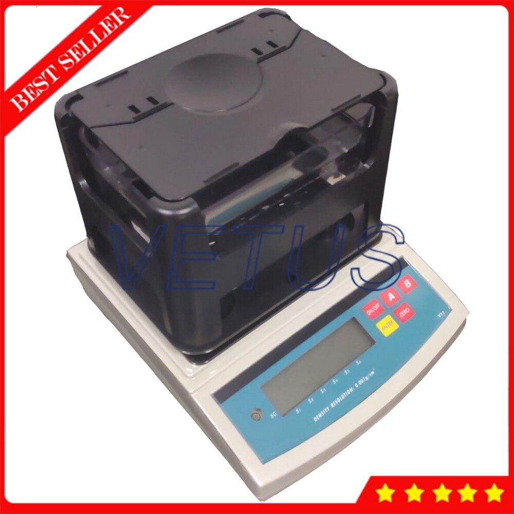 Широкое применение DH-2000 твердых электронный цифровой денситометр с 0,01 г точность взвешивания прибор для измерения плотности