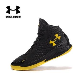 071c1a39 Under Armour zapatos Curry V1 zapatos hombre Retro zapatos de baloncesto deportiva  hombre de alta arriba
