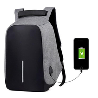 Laptop Bag USB Charger for Macbook 13 15 inch Notebook Bag Waterproof Anti Theft Computer bags for Men Women School Bags