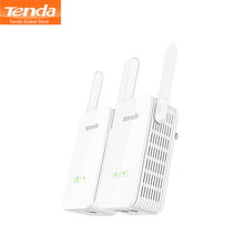 Adaptador Ethernet Tenda PH15 de 1000Mbps, adaptador de red PLC, extensor WIFI inalámbrico, IPTV,Homeplug AV,Plug and Play 1 par(China)
