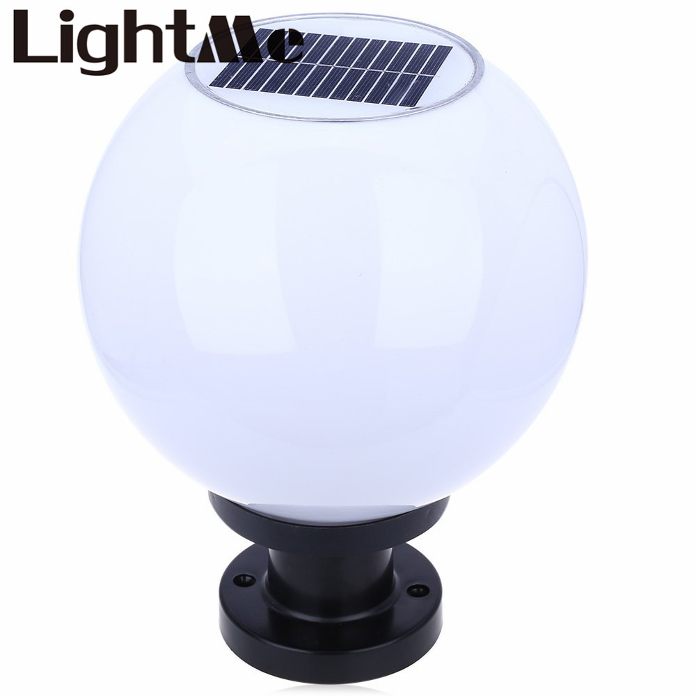 2016 new brightness outdoor lighting 200mm ip65 solar powered led ball lamp waterproof ip65. Black Bedroom Furniture Sets. Home Design Ideas