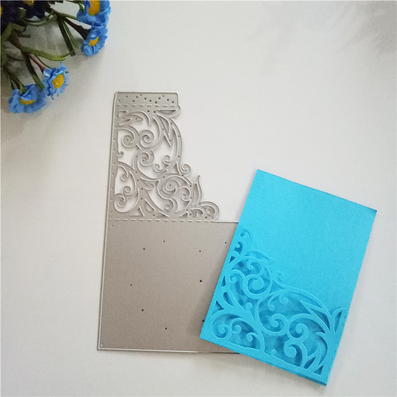 Paper Craft Decoration Home: New Cutting Dies Decor Hollow Pattern METAL CUTTING DIES