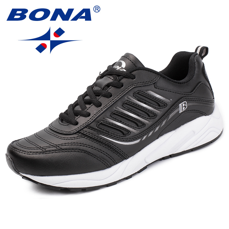 BONA New Arrival Classics Style Men Casual Shoes Lace Up Men Loafers Split Leather Men Outdoor Fashion Sneakers Free Shipping