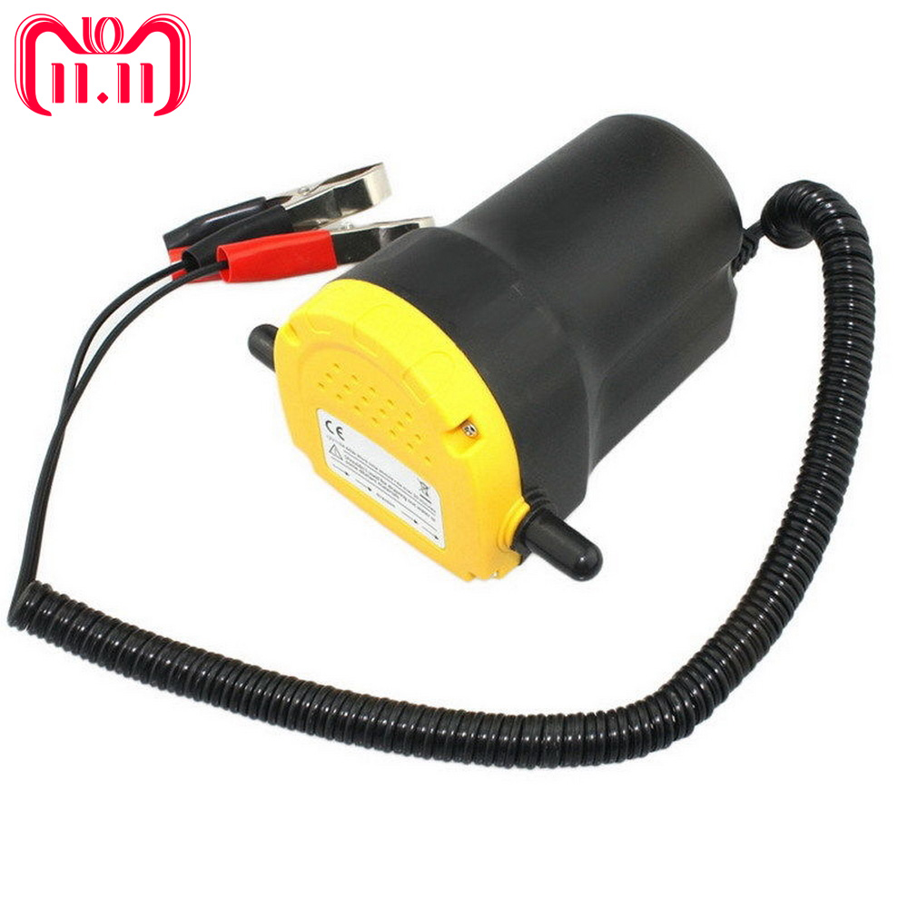 Car Oil Pump DC 12V 24V Auto Fuel Transfer Pump Car Motorbike Diesel Fluid Scavenge Oil Liquid Exchange Oil Extractor Pump