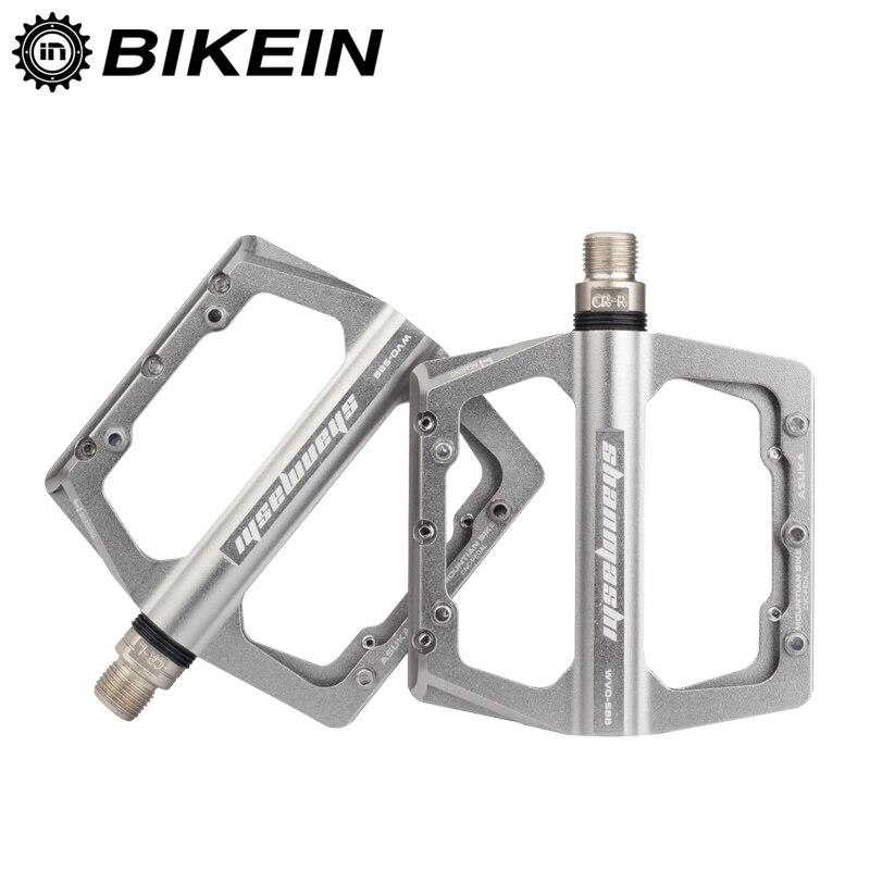 BIKEIN Vélo Vélo 4 Palier Fixe Pédales De Vitesse VTT Vélo Plate-Forme Pédales Anti-Slip Plat Pédale Super Léger VTT accessoires