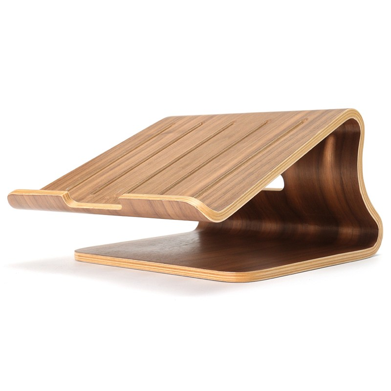 Computer Desks Wooden Laptop Cooling Holder Stand Radiator Dock Tray For MacBook Air Notebook Fome Furniture