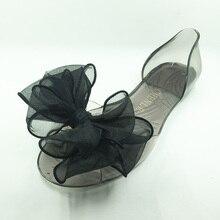 Venta caliente Tamaño 4-9 Del Estilo Del Verano Zapatos Sandalias de Las Mujeres Hermosas zapatos de La Jalea Dulce Pisos Flip-Flop de Moda Sólido flores Zapatillas